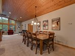 Angora Mountain Lodge  - Dining Area for 10