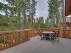 Angora Mountain Lodge  - Balcony Patio Seating