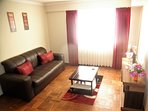 Living room: spacious and comfort