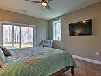Enjoy patio access from all 3 bedrooms downstairs.
