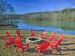 The ideal waterfront retreat awaits at this Lake Anna vacation rental house.