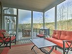 Catch some shade on the screened porch.