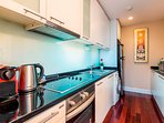 KITCHEN equipped with Dishwasher,Washing Machine,Oven,Microwave, Kettle &Toaster