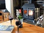 Lounge and wood burner