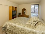 Forest Meadows #34 - master bedroom with tv