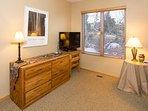 Snowcreek #631 (Phase 4) - TV in bedroom