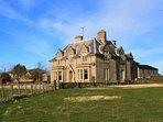 A fabulous farmhouse converted into stylish holiday accommodation