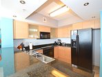 Fully equipped kitchen for all your cooking and baking needs. Granite countertops.