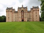 Visit the National Trust of Scotland's Fyvie Castle