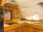 The kitchen is fully equipped for cooking up a feast for your guests