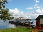 The Rutland Belle ready to set sail around Rutland Water