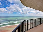 Affordable-Ocean-Front Unit-Spectacular Views on 19th Floor Large Balcony, Small