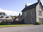 On offer is a fine shooting lodge near Kinloch Rannoch