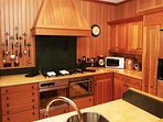 The well equipped and smart kitchen