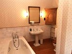 The en-suite bathroom to room 4