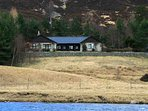 The luxury holiday sits above the River Dee