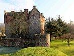 This unique restored castle is a memorable venue for groups of 14