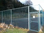 Private tennis court is available for use