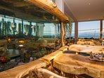 restaurant aquarium