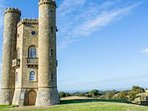 Great views from Broadway Tower