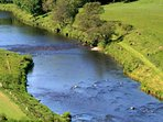 Fishing on this beat of the river Deveron is available as extra