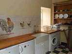 The utility room can be the most useful room at any holiday house