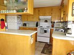 Fully equipped kitchen at Meadow Pines Cottage