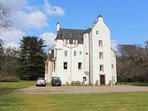 Introducing this historic castle just 18 miles from Inverness