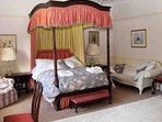 Room 3 is a four poster double bedroom on the second floor.