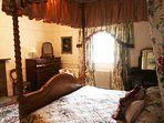 Room 4 is another gorgeous four poster double room on the second floor