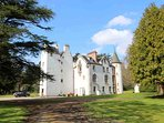 This historic castle sits within its own 12,000 acre private sporting estate