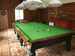 Who would like a game of snooker?