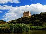 Close to Edinburgh for city visits or 22 acres to escape into