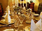 Perfect for dining and entertaining in authentic style