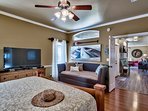 1st Floor King Master suite with daybed and trundle