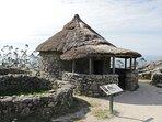 Poblado celta en el Monte de Santa Tecla 2 lugar mas visitado de Galicia