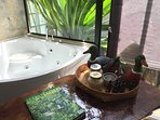 private Spa bath