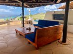 Lounge on the Big terrace with sea view