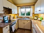Fully fitted kitchen with Dishwasher, Double Oven, Fridge/Freezer, microwave etc.