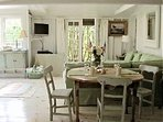 Detail of main cottage livingroom