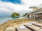 Pool & Hot Tub Lounge Area