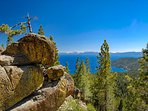 The scenery around our home on the North shore of Lake Tahoe is breathtaking.