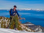 More ski resorts are clustered around Lake Tahoe than anywhere in the world.