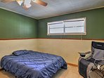 A fourth bedroom provides 2 more guests with comfortable sleeping accommodations.