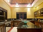 Kitchen (staff kitchen downstairs where most cooking happens)
