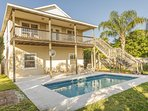 Ocean View 3/2 Home - Sleeps 8 - Large Private Pool - Awesome Price!!!