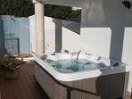 Sunny Jacuzzi by the pool!