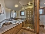 Grand Master Bath with Dual Sinks, Tile Shower and Jetted Tub