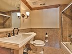 Level 1 Master Bath 4 Separate 2nd Sink and Tub/Shower