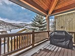 Private Deck off the Dining Area with BBQ Grill and Great Views